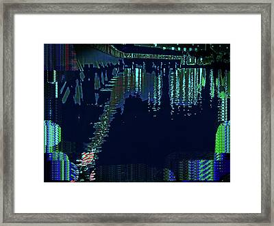 Abstract  Images Of Urban Landscape Series #7 Framed Print