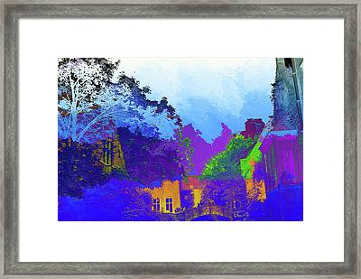 Abstract  Images Of Urban Landscape Series #8 Framed Print