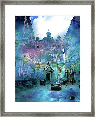 Abstract  Images Of Urban Landscape Series #9 Framed Print