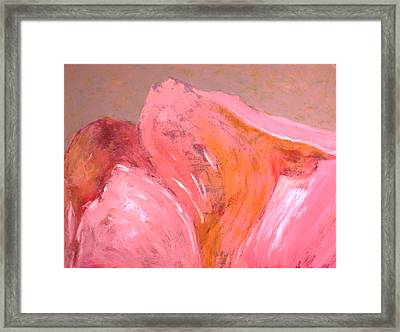 Abstract In Pink Framed Print