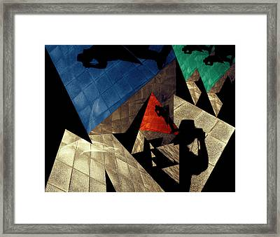 Framed Print featuring the photograph Abstract Iterations by Wayne Sherriff