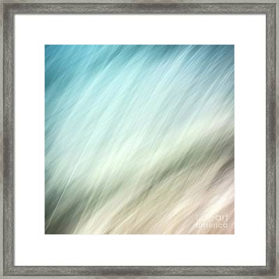 Abstract Framed Print by Janet Burdon