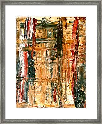 Abstract  Framed Print by Jennifer Addington
