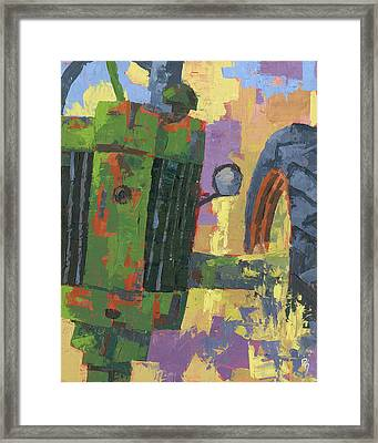 Abstract Johnny Framed Print