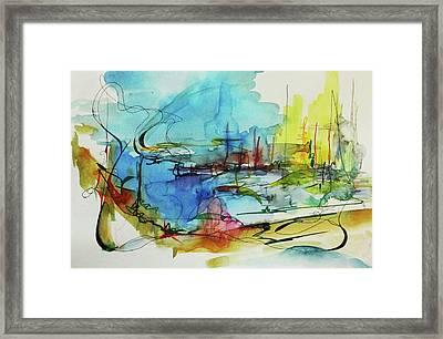 Abstract Landscape #1 Framed Print