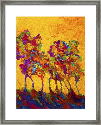 Abstract Landscape 3 Framed Print by Marion Rose
