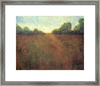 Abstract Landscape #212 - Art By Jim Whalen Framed Print