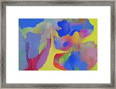 Abstract Landscape Framed Print by Peter Shor
