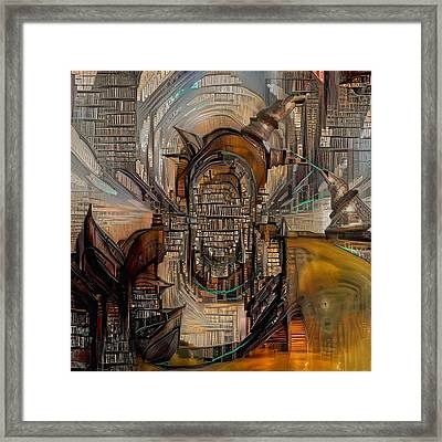 Abstract Liberty Framed Print