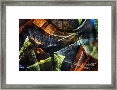 Abstract Light Framed Print by Elena Lir-Rachkovskaya
