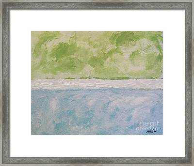 Abstract Lightness Framed Print