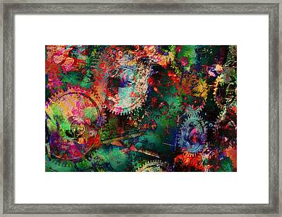 Abstract Machine Framed Print