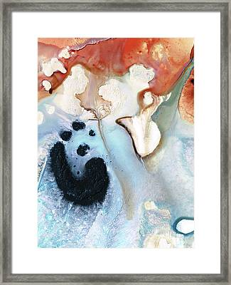 Abstract Modern Art - The Vessel - Sharon Cummings Framed Print by Sharon Cummings