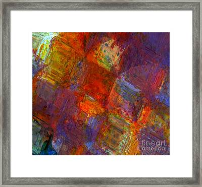 Abstract Moments Framed Print
