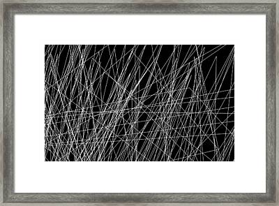 Abstract No 211 Framed Print