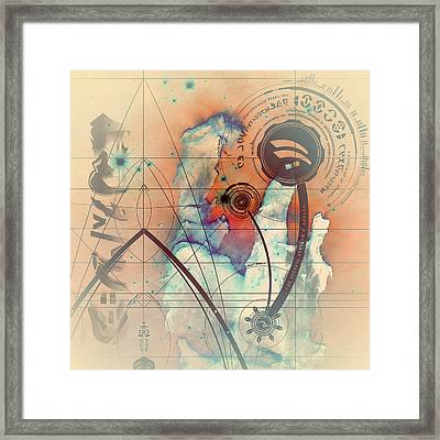 Abstract No 28 Framed Print by Robert G Kernodle