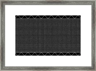 Abstract No 361 Framed Print