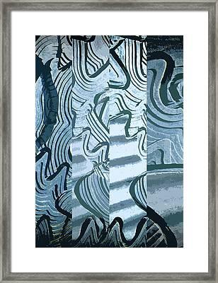 Abstract No. 57-1 Framed Print