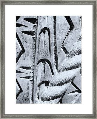 Abstract No. 97-2 Framed Print