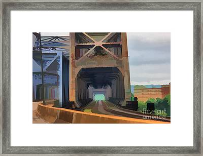 Abstract No. Eighteen Framed Print by Tom Griffithe