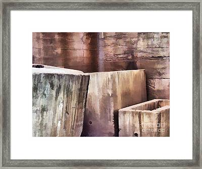 Abstract No. Sixteen Framed Print by Tom Griffithe