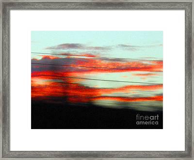 Abstract No.3 Framed Print by Mic DBernardo