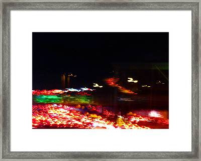 Abstract No.9 Framed Print by Mic DBernardo