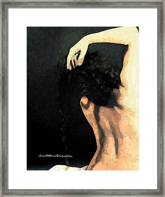 Abstract Nude Art 1 Framed Print