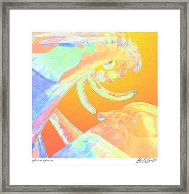 Abstract Number 1 Framed Print by Peter J Sucy