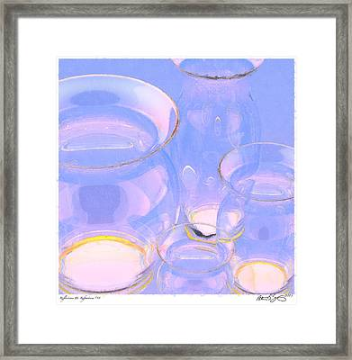 Framed Print featuring the photograph Abstract Number 18 by Peter J Sucy