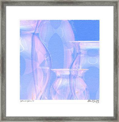 Framed Print featuring the photograph Abstract Number 21 by Peter J Sucy