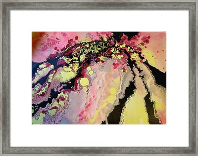 Abstract Oc2 Framed Print by Valerie Aune