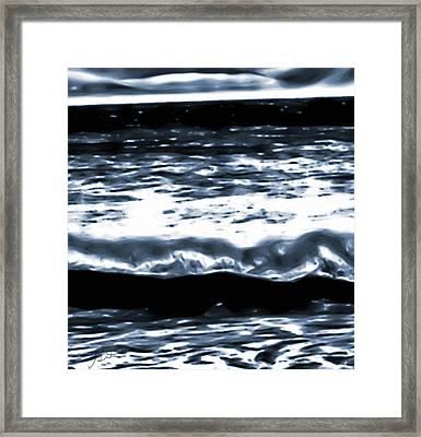 Abstract Ocean Framed Print
