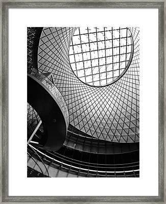 Abstract Oculus Framed Print by Jessica Jenney