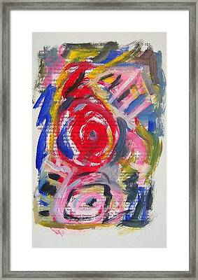 Abstract On Paper No. 24 Framed Print by Michael Henderson