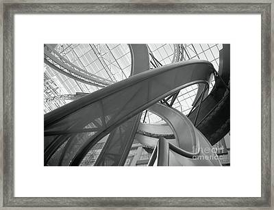 Abstract P O V Framed Print
