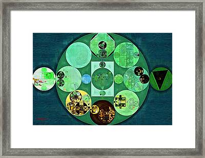 Abstract Painting - Amazon Framed Print by Vitaliy Gladkiy