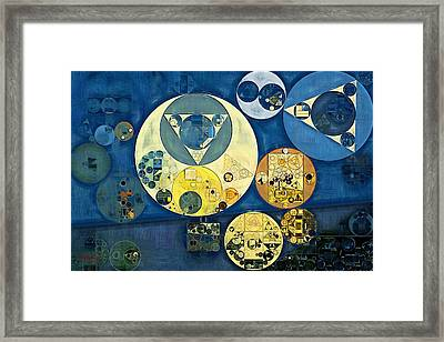 Abstract Painting - Astral Framed Print
