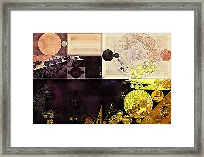Abstract Painting - Chamois Framed Print by Vitaliy Gladkiy