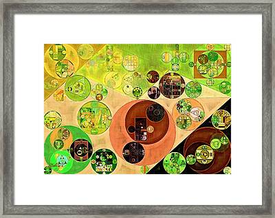 Abstract Painting - Chenin Framed Print