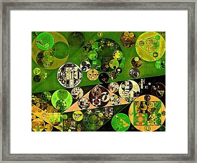 Abstract Painting - Confetti Framed Print by Vitaliy Gladkiy