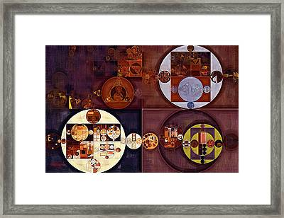 Abstract Painting - Crown Of Thorns Framed Print by Vitaliy Gladkiy