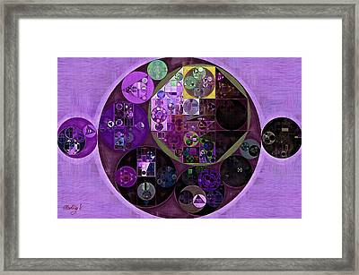 Abstract Painting - Dark Byzantium Framed Print by Vitaliy Gladkiy