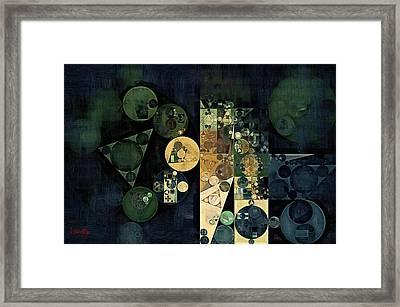 Abstract Painting - Ecru Framed Print by Vitaliy Gladkiy