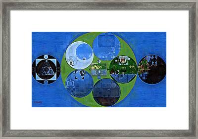 Abstract Painting - Everglade Framed Print by Vitaliy Gladkiy
