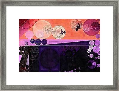 Abstract Painting - Fuzzy Wuzzy Framed Print by Vitaliy Gladkiy