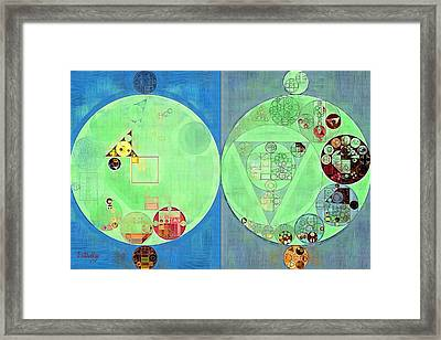 Abstract Painting - Gondola Framed Print by Vitaliy Gladkiy