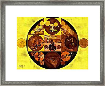 Abstract Painting - Gorse Framed Print by Vitaliy Gladkiy