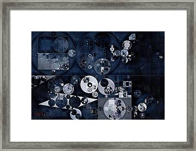 Abstract Painting - Gull Grey Framed Print by Vitaliy Gladkiy