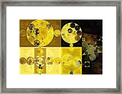 Abstract Painting - Hacienda Framed Print by Vitaliy Gladkiy